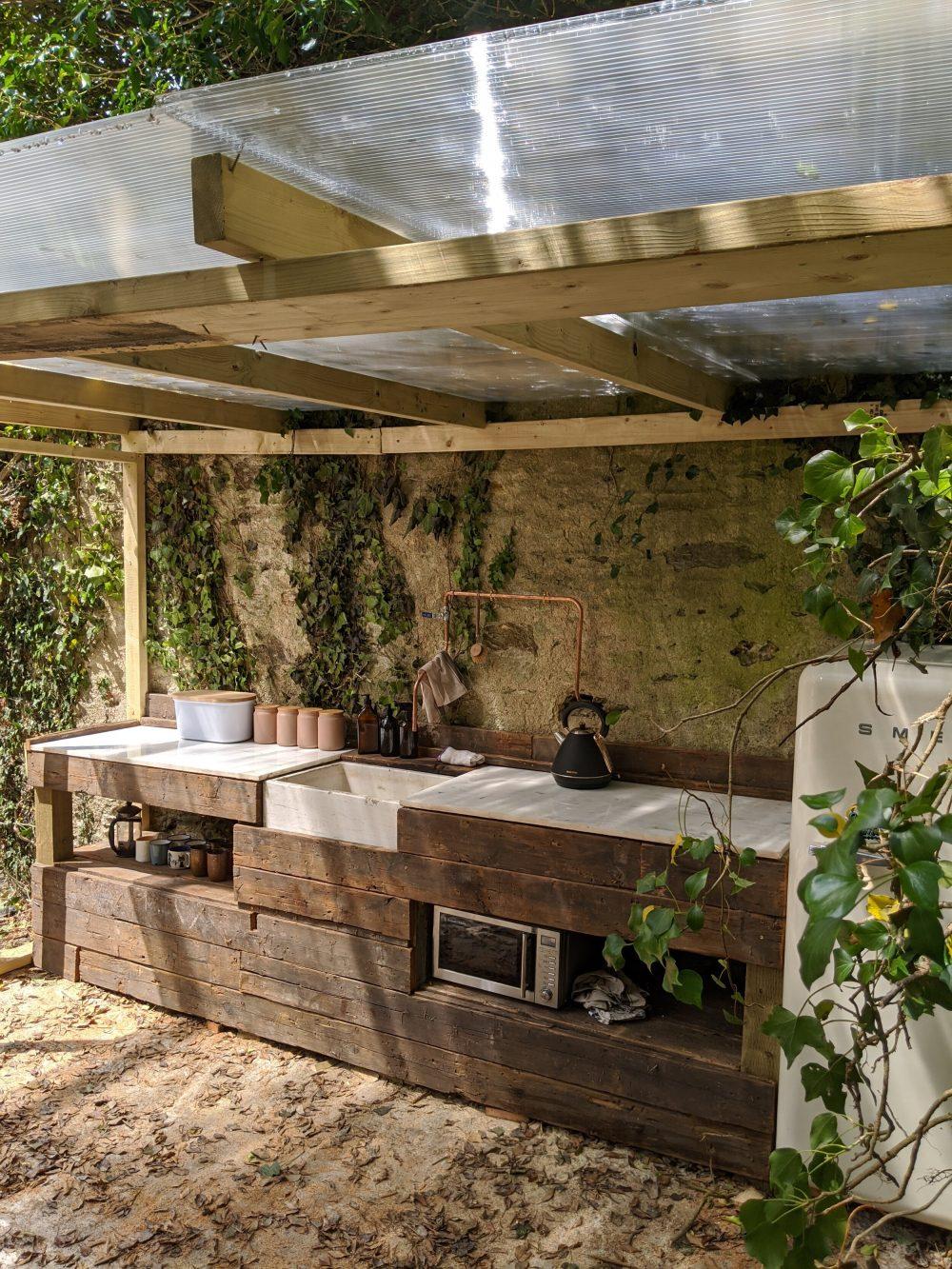 Our new indoor/outdoor kitchen
